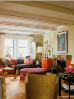 Image for Jamie Drake's Romance with Coral Oushak Rugs & Bold Color Antiques
