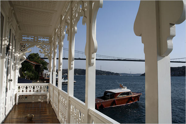 house on the Bosporus