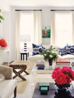 Image for 15 High Fashion Living Rooms with Geometric Decorator Rugs