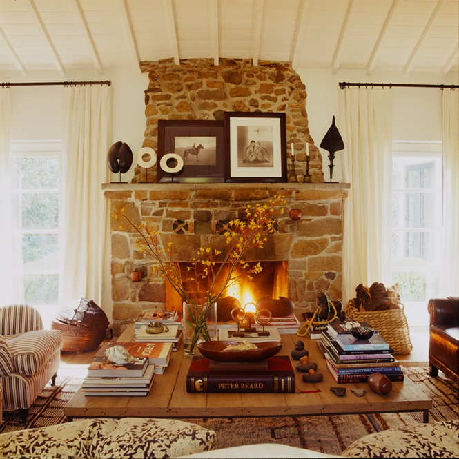 Marble Fireplace Rug: The 14 Coziest Fireplace Seating Areas On Decorative Rugs