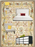 Image for 3 Tips for Modern Decor with Yellow and Red Needlepoint Rugs