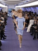 Image for Chanel's Paris Show Predicts Blue Skirt Suits and Blue Rugs for 2012