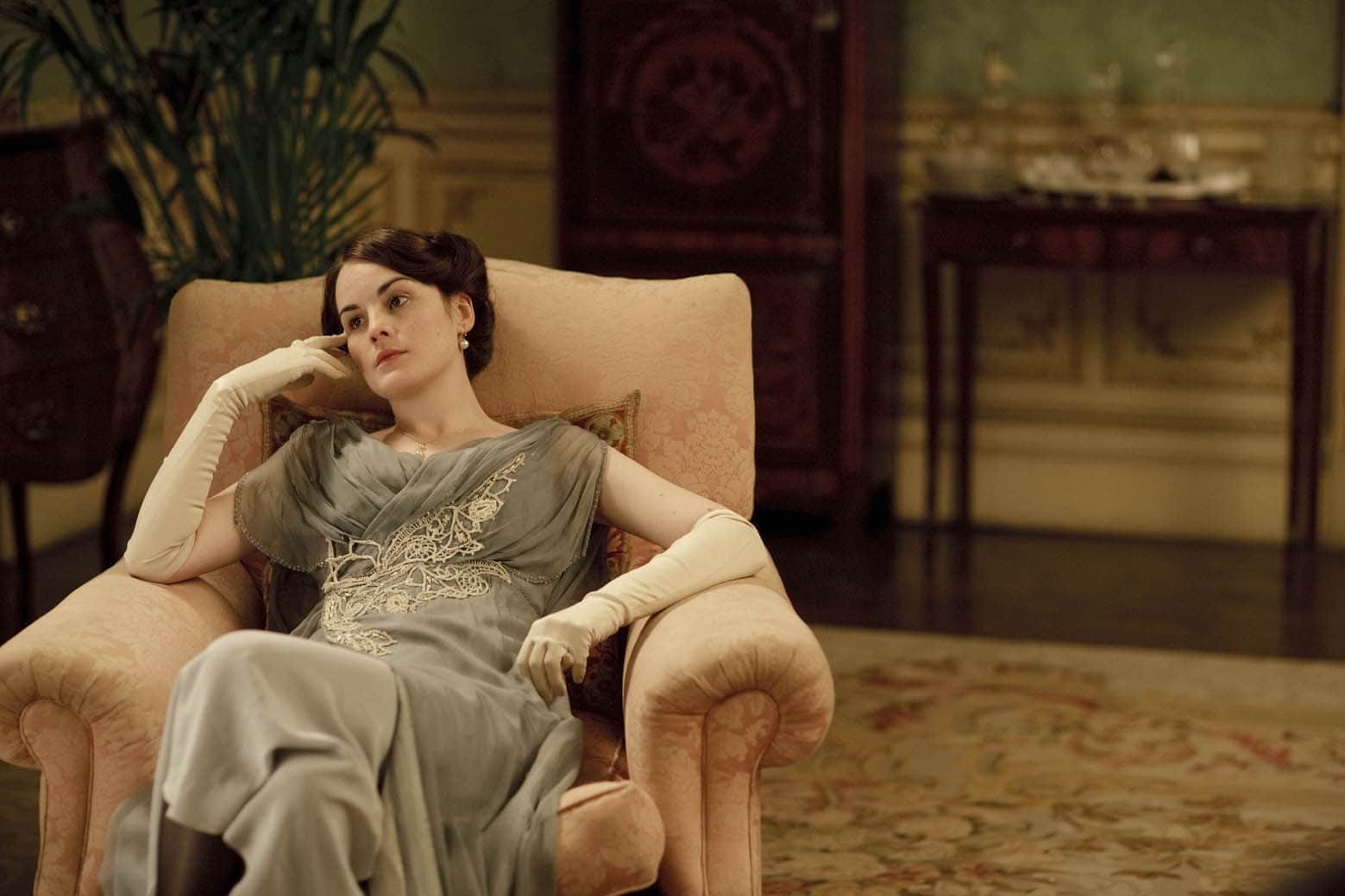 Aubusson rugs, aubusson rug, Downton Abbey