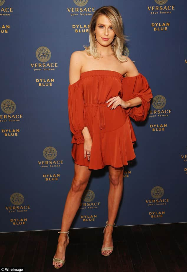 Designer rugs in orange are very popular and model Erin Holland received high compliments in the media for her orange off-the-shoulder dress she wore at a July Versace fragrance launch in Sydney.