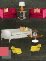 Image for How to Create Pop with Red, Fuschia, Yellow on Flexible Decorator Rug