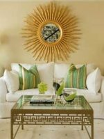 Image for 15 Fabulous Interiors: How to Decorate with Green Rugs and Green