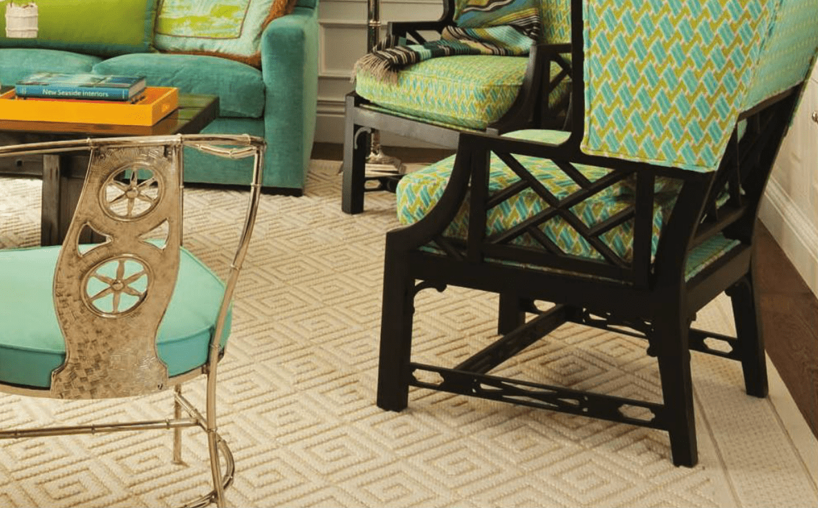Decorative rugs, decorative area rugs, decorator rugs, Needlepoint rugs, Geometric rugs