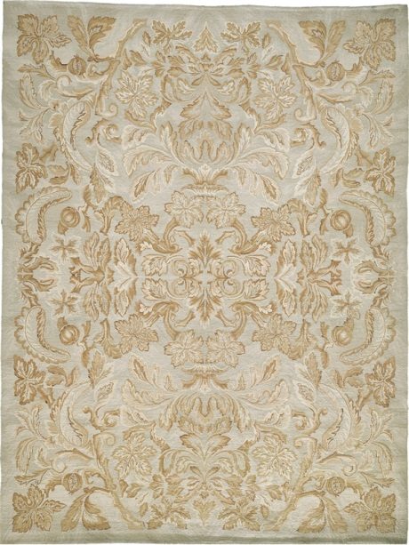 damask rug, taupe rugs, beige rugs, taupe and beige oriental rugs