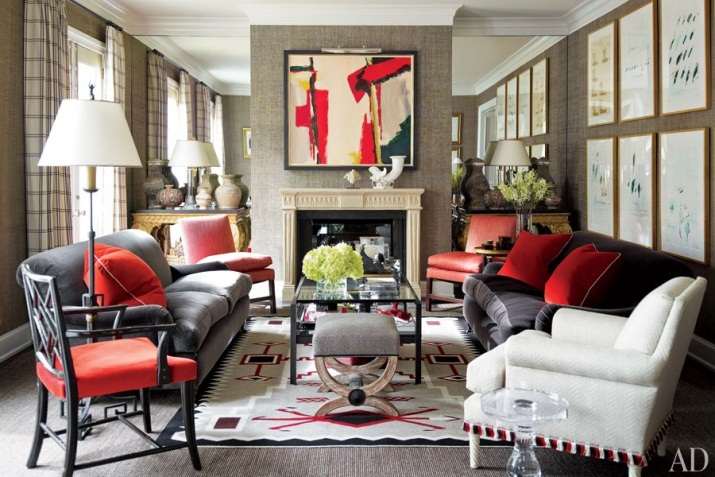 Red, Black, Grey And White Rugs, Red, Grey, Black And White. 7. Interior  Designer ...