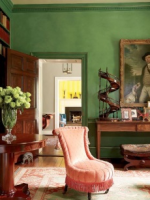 Image for AD and Pinterest's 7 Top Interiors with Green Rugs and Emerald Green