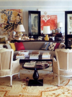 Image for Kate Spade Enriches Modern Art with Aubusson Rugs