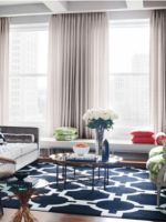 Image for Four Ways to Design Glamorous Interiors with Geometric Rugs