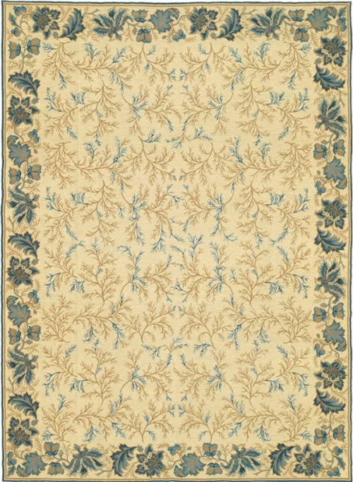blue rugs, blue rugs for sale, blue and white rugs, blue needlepoint rugs, blue Savonnerie rugs