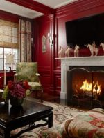 Image for How to Glamorize a Room with Fireplace with Bessarabian Rugs