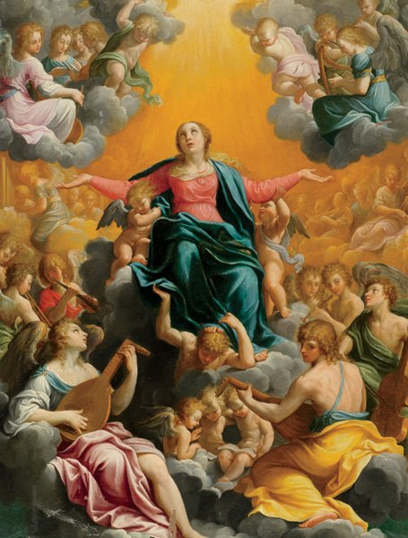 The Assumption, 1596–97, by Guido Reni AD resized 600