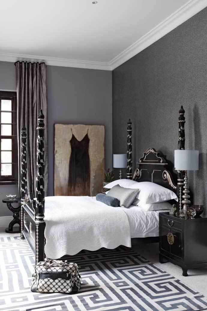 Make A Statement With Geometric Rugs 8 Chic Rooms Show How Greek Key Rug Diy Trim Curtains Budget Black And White