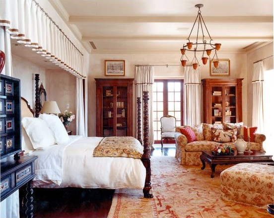 How to Add Glamour with Oushak Rugs 4 Fab Michael Smith Rooms