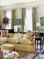 Image for Bunny Williams Designs Stunning Interiors with Needlepoint Rugs