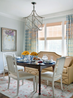 Image for How to Design Chic Dining Areas with Oushak Rugs