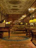 Image for How Savonnerie Rugs Enrich the Libraries of Majestic Mansions