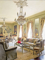 Image for Aubusson Rugs Bring Glory to Renovated Houston Chateau