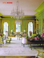Image for Aubusson Rugs Add Glamor to Colorful Rooms