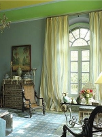 Image for Green Rugs Enhance 4 Traditional and Modern Interiors