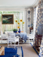 Image for Blue Rugs Add Young Vibe and Elegance to 4 Interiors