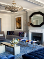 Image for Blue Rugs Enhance 4 Stunning Interiors by Amanda Nisbet