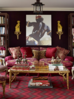 Image for Red Rugs Add Drama  to 4 Interiors