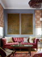 Image for Bring Modern Vibe to Interiors with Damask Red Rugs: 8 Tips