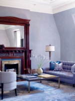 Image for Create Tranquil and Charming Rooms with Blue Rugs: 5 Chic Interiors