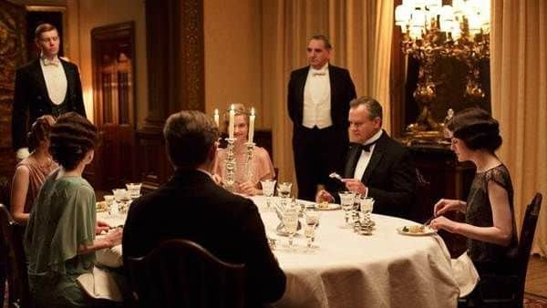 dining room downton abbey season 4 episode 5