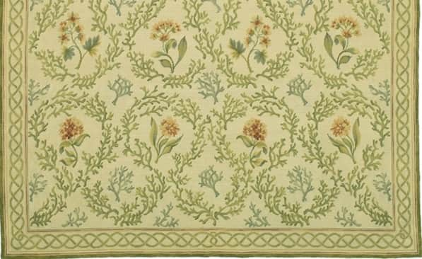 Needlepoint rugs, needlepoint rugs for sale, Savonnerie rugs, floral needlepoint rugs