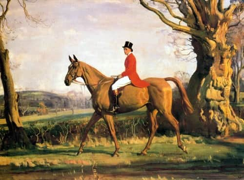 Prince of Wales on Forest Witch 1921 Sir Alfred Munnings