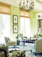 Image for 14 Happy Spring Interiors with Green Rugs and Lively Color