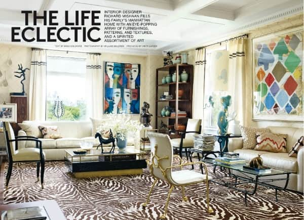 zebra living room architectural digest october 2014 5 best rooms with 10755