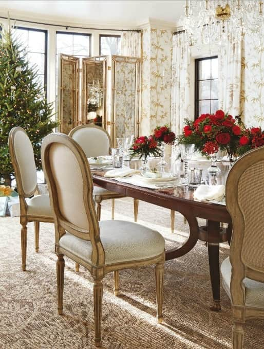 traditional home magazine dining rooms. Damask-rug-beige-rug--decorative-rug-dining-room Traditional Home Magazine Dining Rooms