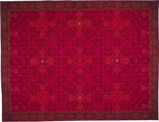 red-rug-aubusson-rug-5122R-Pamplona