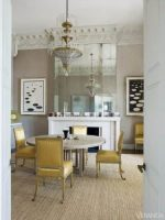 Image for How to Decorate with Blue, Yellow and Gray Rugs: 7 Chic Dining Rooms