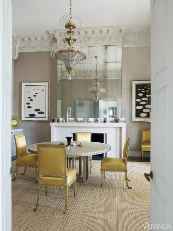 taupe-rug-grey-rug-contemporary-rug-dining-room-london-Veere-Grenney