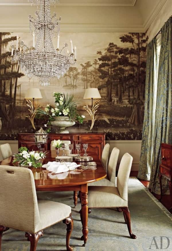 wool-and-silk-rug-contemporary-rug-dining-room-Ann-Holden-Ken-Tate-New_Orleans-Louisiana-architectural-digest