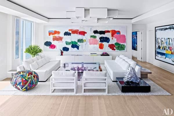 contemporary-rug-white-rug-jorge-perez-living-room-modern-art-pied-a-terre-hollywood-florida-architectural-digest-december-2014