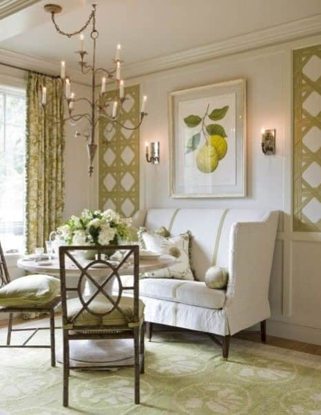 green-rug-white-walls-living-room-by-Victoria-Neale