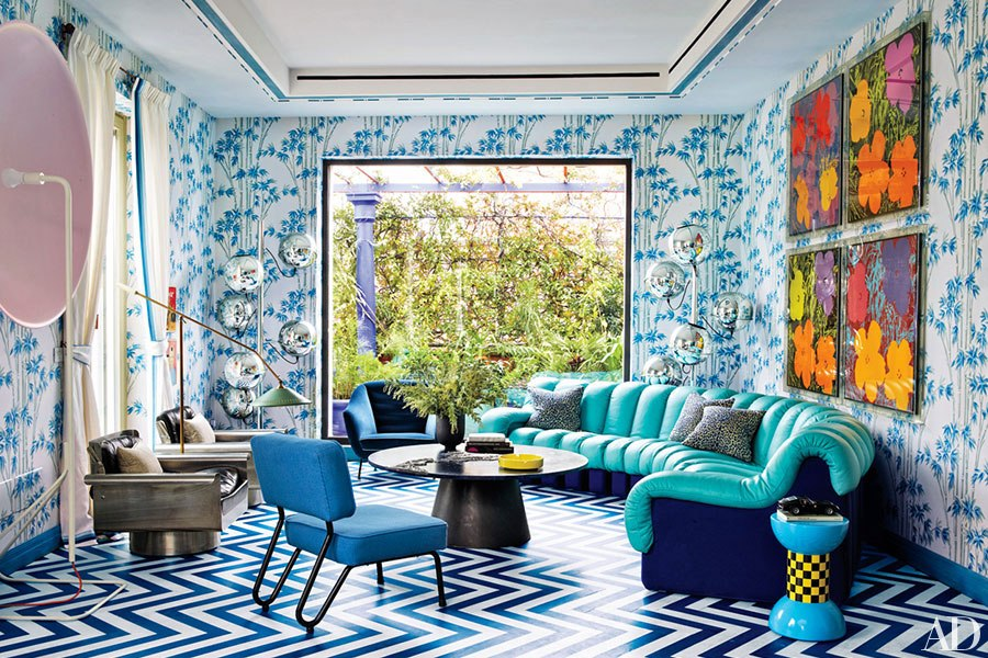 contemporary-rug-blue-and-white-rug-living-room-lapo-elkann-milan-apartment-architectural-digest-february-2015