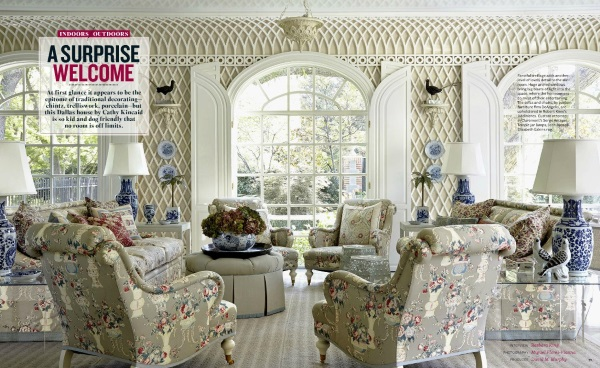 House Beautiful April 2015 5 Best Rooms With Decorative Rugs