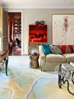 Image for Architectural Digest January 2015: 10 Best Rooms with Decorative Rugs