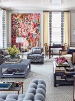 Image for Architectural Digest February 2015: 7 Best Rooms with Decorative Rugs