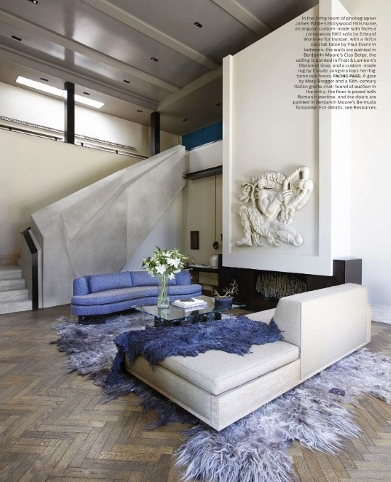 Elle Decor September 2016 6 Best Rooms With Decorative Rugs