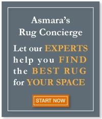 Ask Asmara Rug Experts to find the best rug for your room